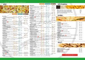 Meniu Pizza Speciale