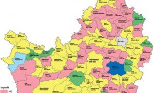 harta cluj 2016 alegeri