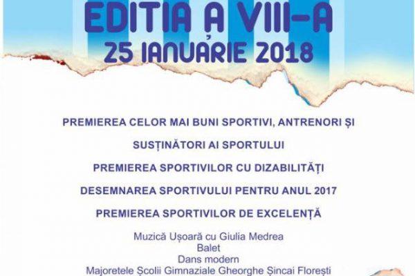 Gala Sportului Florestean - editia a VIII-a