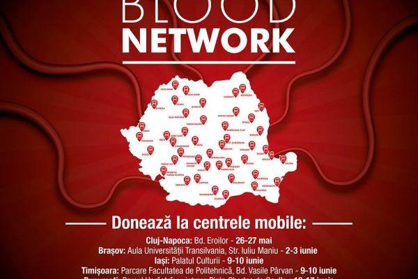 Începe a patra ediție a campaniei Blood Network. Donează sânge și mergi la UNTOLD și NEVERSEA!