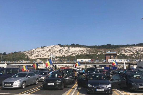 EXCLUSIV// UPDATE 2 (miercuri, ora 23.50) Coloana Diasporei care a plecat din Marea Britanie va tranzita Florestiul joi, in jurul orei 10.30, iar la 11.00 va intra in centrul Clujului!