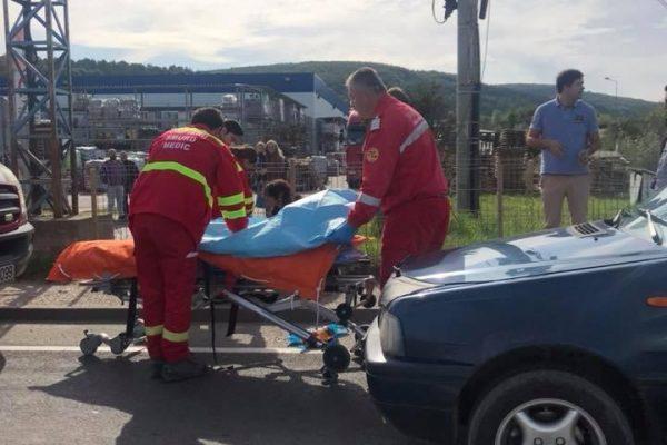Doua accidente in dupa-amiaza zilei de duminica intre Floresti si Cluj. Doi minori au fost transportati la UPU Cluj!