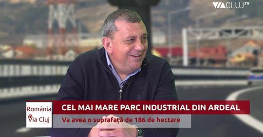 Primarul H.Sulea sustine ca in Floresti se va construi cel mai mare Parc Industrial din Transilvania