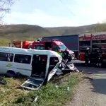 Starea medicala a victimelor din microbuzul rasturnat in Capusu Mare. Doua tinere se afla in stare grava!
