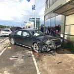 Accident in zona Metro//West City. O femeie a fost transportata la UPU, iar circulatia se desfasoara cu dificultate!